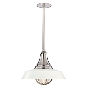 Lansing Pendant by Hudson Valley Lighting | 9118-WSN