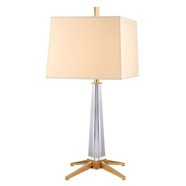 Hindeman Table Lamp by Hudson Valley Lighting | L387-AGB