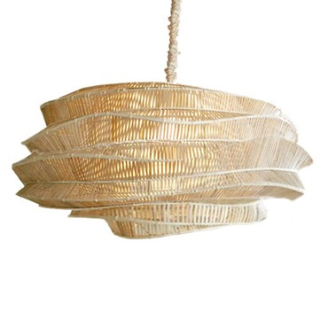 Bamboo Cloud Chandelier