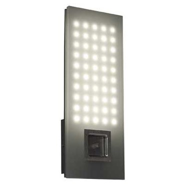 Grid Panel Bath Bar by Blackjack Lighting | GRD-14S-BA-827