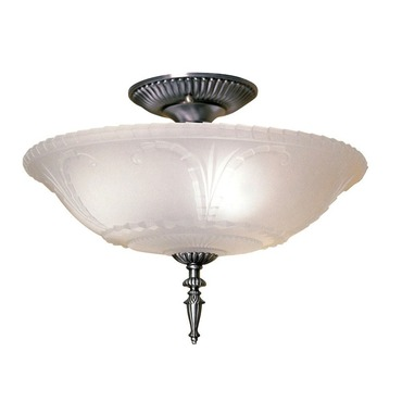 Americana Semi Flush Mount
