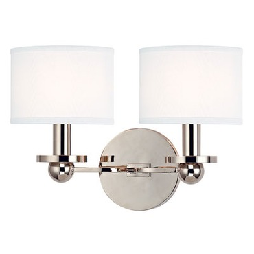 Kirkwood Wall Light by Hudson Valley Lighting | 1512-PN-WS