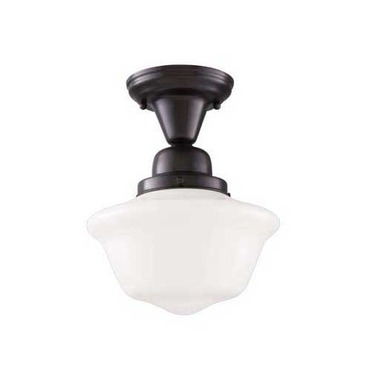 Edison Schoolhouse Semi Flush