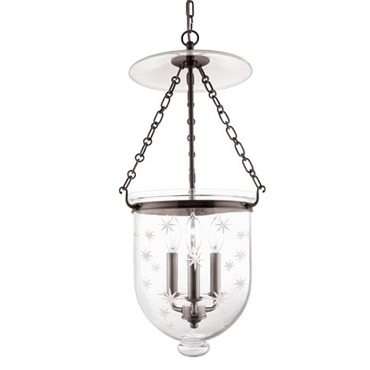 Hampton C3 pendant by Hudson Valley Lighting | 255-OB-C3