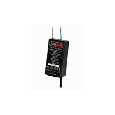 LET-75W 12V/240V Input Electronic Transformer by Lightech | 68662