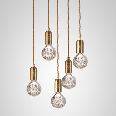 Crystal Bulb Chandelier