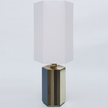Parquetry Table Lamp