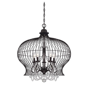 Abagail Pendant by Savoy House | 7-6101-5-17