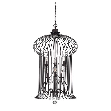 Abagail Foyer Pendant by Savoy House | 3-6102-6-17