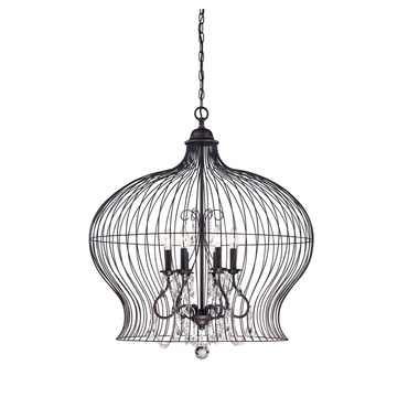 Birdcage Pendant by Savoy House | 7-6100-6-17