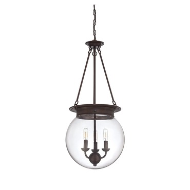 Glass Orb Pendant by Savoy House | 7-3301-3-28