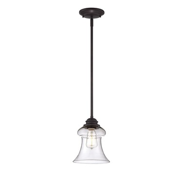Glass Filament Bell Pendant by Savoy House | 7-4132-1-13