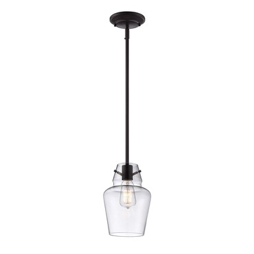 Glass Filament Mini Pendant by Savoy House | 7-4134-1-13
