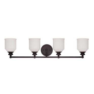 Melrose Bathroom Vanity Light by Savoy House | 8-6836-4-13