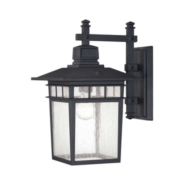 Linden Exterior Wall Sconce by Savoy House | 5-9591-BK