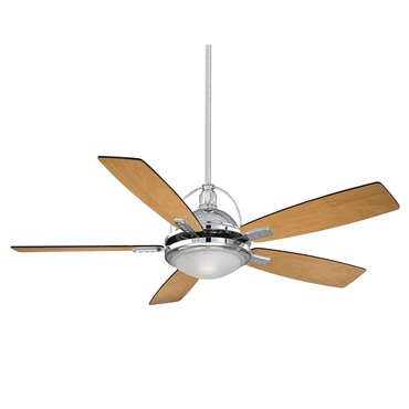 Shasta Fan with Light by Savoy House | 54-220-5RV-CH