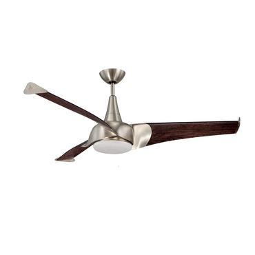 Ariel 3 Blade Ceiling Fan by Savoy House   55-818-3CN-SN