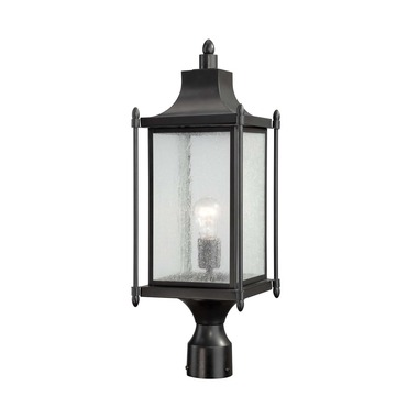 Dunnmore Exterior Post Light by Savoy House | 5-3454-BK