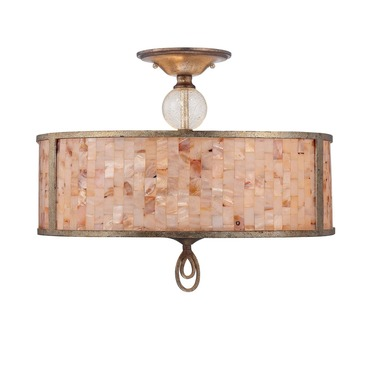 Acacia Semi Flush Mount