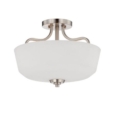 Charlton Small Semi Flush Mount