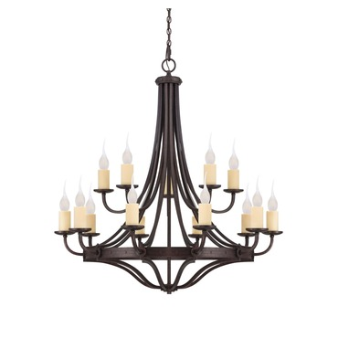 Elba Chandelier by Savoy House | 1-2014-15-05