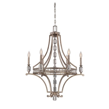 Filament Rim Chandelier by Savoy House | 1-7151-6-272