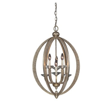 Forum Foyer Pendant by Savoy House | 3-1553-6-122