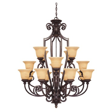 Knight Chandelier by Savoy House | 1P-50205-16-16