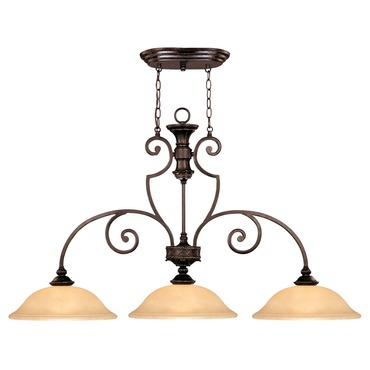 Knight Linear Pendant  by Savoy House   1P-50208-3-16