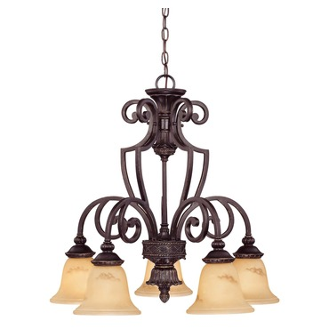 Knight Down Chandelier by Savoy House | 1P-50219-5-16