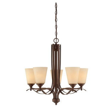 Maremma Chandelier by Savoy House | 1P-2176-5-129