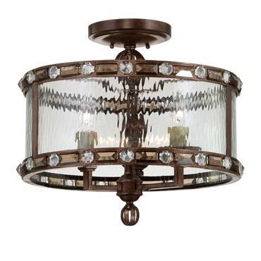 Paragon Semi Flush Mount by Savoy House | 6-6032-3-131