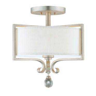 Rosendal Semi Flush Mount