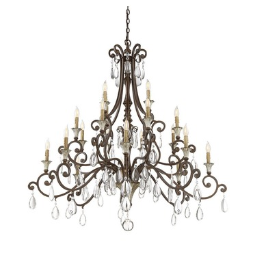 St Laurence Chandelier by Savoy House | 1-3005-20-8
