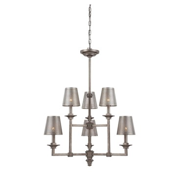 Structure Chandelier by Savoy House | 1-4300-6-242