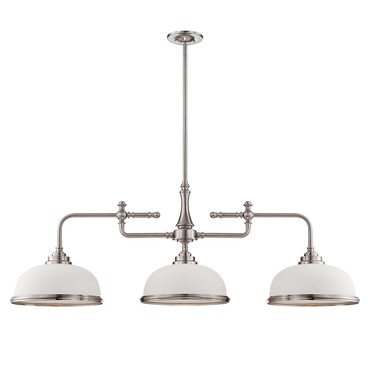 Sutton Place Trestle Pendant by Savoy House | 1-1730-3-SN