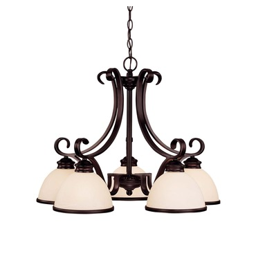 Willoughby Down Chandelier by Savoy House | 1-5776-5-13