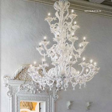 Three Tier 1377 Chandelier by Lightology Collection | LC-1377/16+8+4-K-BL.CR