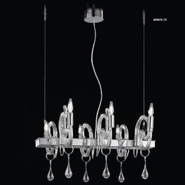 Linear 2000 Suspension by Lightology Collection | LC-2000/6-K-CR