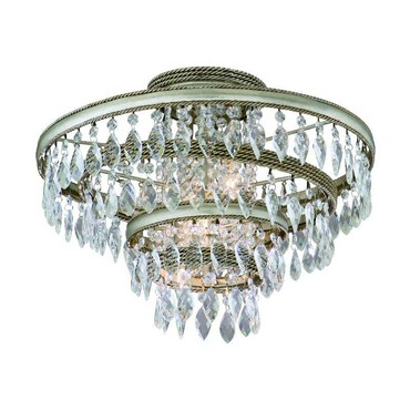 Diva Semi Flush Ceiling by Corbett Lighting | 132-33