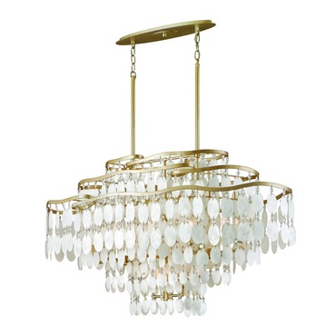 Dolce Oval Chandelier by Corbett Lighting | 109-512