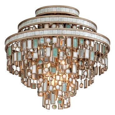 Dolcetti Semi Flush Ceiling by Corbett Lighting | 142-33