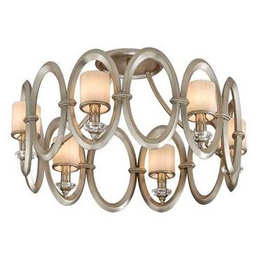 Embrace Semi Flush Ceiling  by Corbett Lighting   134-36