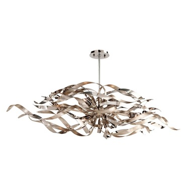 Graffiti Linear Chandelier by Corbett Lighting | 154-56