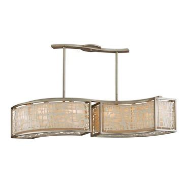 Kyoto Linear Pendant by Corbett Lighting | 131-56