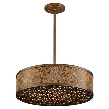 Mambo Drum Pendant by Corbett Lighting | 135-44-F