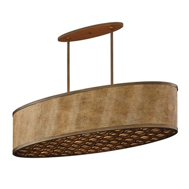 Mambo Oval Pendant by Corbett Lighting | 135-56-F