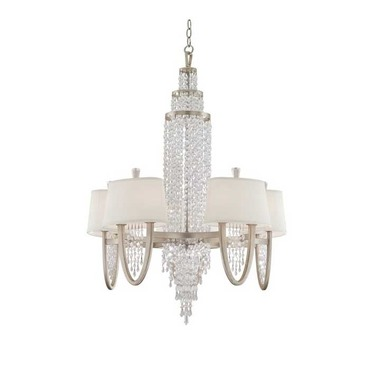 Viceroy 1-Tier Chandelier by Corbett Lighting | 106-010