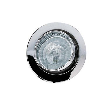 825.16 20W Swivel Recessed Puck Light Clear Lens by Hafele America | 825.16.202