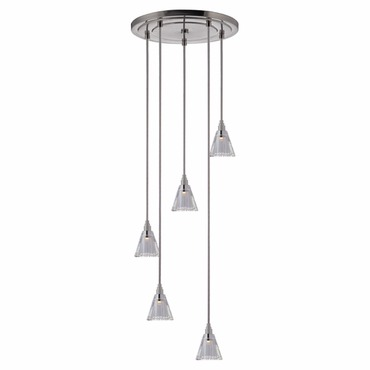 Naples 003 5 Light Pendant by Hudson Valley Lighting | 3615-SN-S-003